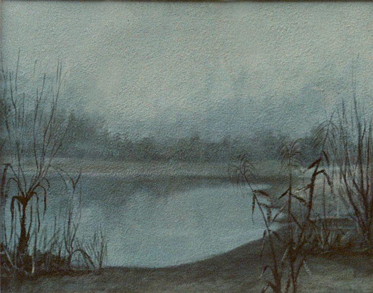 dipinto ad olio pittore chiarisca Polesso Fulvio